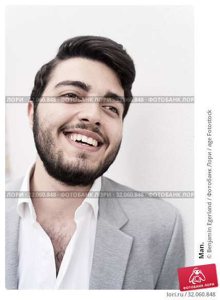 Man. Стоковое фото, фотограф Benjamin Egerland / age Fotostock / Фотобанк Лори
