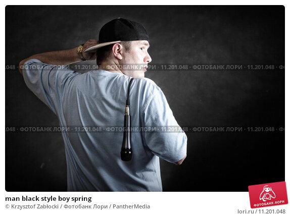 Купить «man black style boy spring», фото № 11201048, снято 20 февраля 2019 г. (c) PantherMedia / Фотобанк Лори