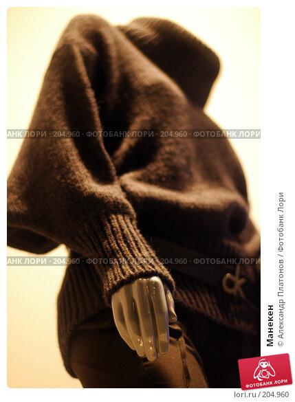 Манекен, фото № 204960, снято 21 декабря 2007 г. (c) Александр Платонов / Фотобанк Лори