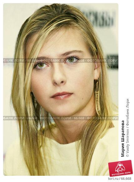 Купить «Мария Шарапова», фото № 66668, снято 10 октября 2005 г. (c) Vasily Smirnov / Фотобанк Лори