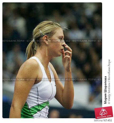 Купить «Мария Шарапова», фото № 67452, снято 14 октября 2005 г. (c) Vasily Smirnov / Фотобанк Лори