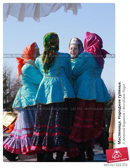Масленица. Народное гулянье., фото № 222372, снято 9 марта 2008 г. (c) Алексей Баринов / Фотобанк Лори