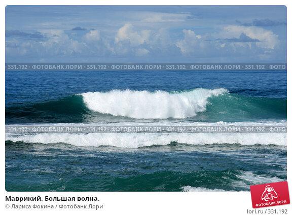 Маврикий. Большая волна., фото № 331192, снято 3 мая 2008 г. (c) Лариса Фокина / Фотобанк Лори
