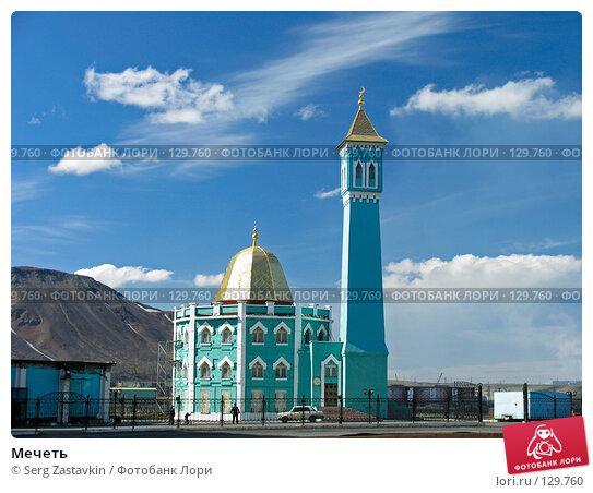 Купить «Мечеть», фото № 129760, снято 4 июля 2004 г. (c) Serg Zastavkin / Фотобанк Лори