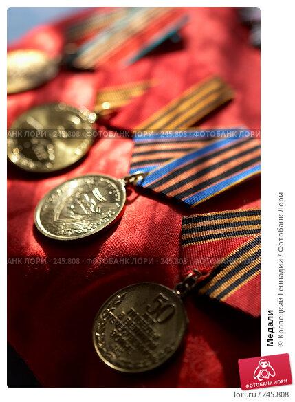 Медали, фото № 245808, снято 23 февраля 2005 г. (c) Кравецкий Геннадий / Фотобанк Лори