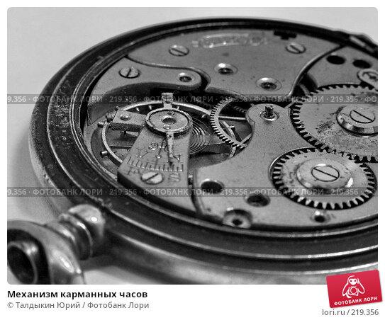 Механизм карманных часов, фото № 219356, снято 29 февраля 2008 г. (c) Талдыкин Юрий / Фотобанк Лори