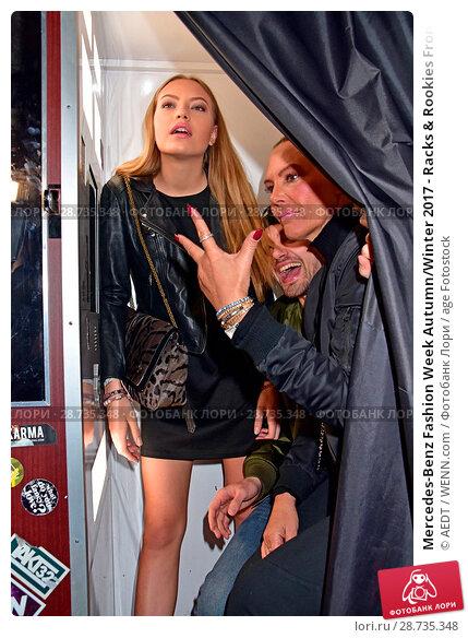 Купить «Mercedes-Benz Fashion Week Autumn/Winter 2017 - Racks & Rookies Frontin Release Party at Kitty Cheng Bar Featuring: Cheyenne Ochsenknecht, Jimi Blue Ochsenknecht...», фото № 28735348, снято 19 января 2017 г. (c) age Fotostock / Фотобанк Лори