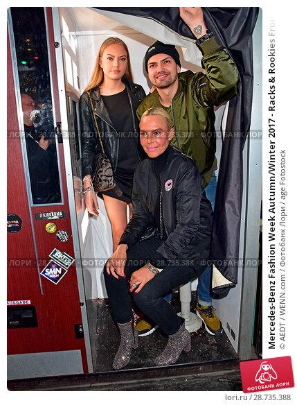 Купить «Mercedes-Benz Fashion Week Autumn/Winter 2017 - Racks & Rookies Frontin Release Party at Kitty Cheng Bar Featuring: Cheyenne Ochsenknecht, Jimi Blue Ochsenknecht...», фото № 28735388, снято 19 января 2017 г. (c) age Fotostock / Фотобанк Лори