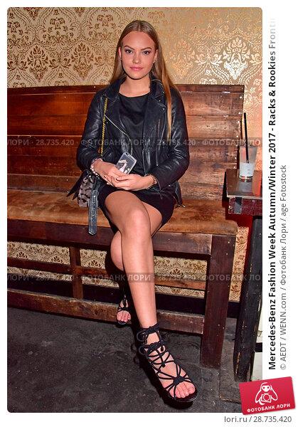 Купить «Mercedes-Benz Fashion Week Autumn/Winter 2017 - Racks & Rookies Frontin Release Party at Kitty Cheng Bar Featuring: Cheyenne Ochsenknecht Where: Berlin, Germany When: 19 Jan 2017 Credit: AEDT/WENN.com», фото № 28735420, снято 19 января 2017 г. (c) age Fotostock / Фотобанк Лори