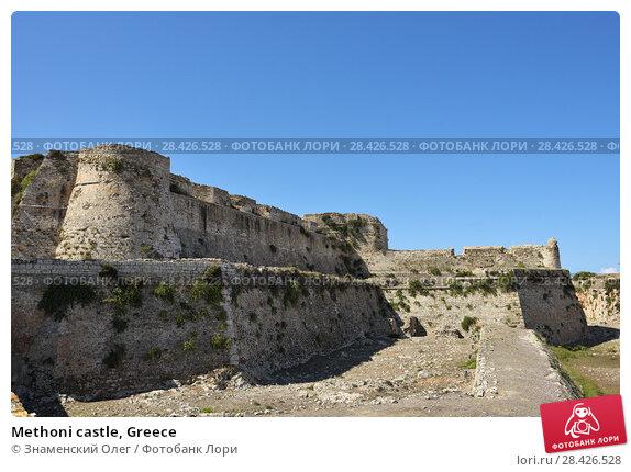 Купить «Methoni castle, Greece», фото № 28426528, снято 3 октября 2013 г. (c) Знаменский Олег / Фотобанк Лори