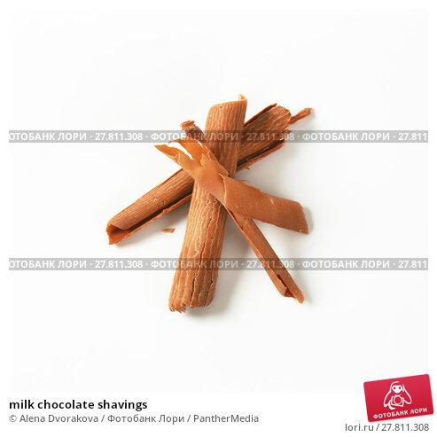 Купить «milk chocolate shavings», фото № 27811308, снято 20 октября 2018 г. (c) PantherMedia / Фотобанк Лори