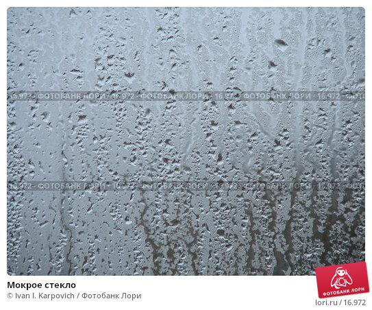 Мокрое стекло, фото № 16972, снято 18 ноября 2006 г. (c) Ivan I. Karpovich / Фотобанк Лори