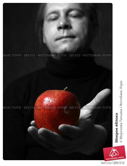 Купить «Мокрое яблоко», фото № 289512, снято 15 июня 2007 г. (c) Морозова Татьяна / Фотобанк Лори