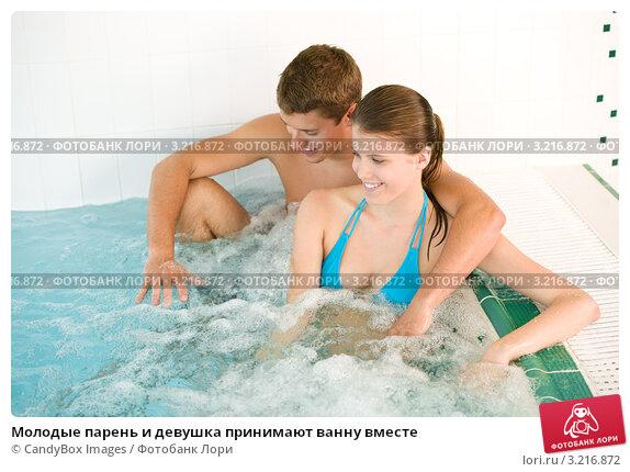 молоденькая девушка в ванной с парнем перепихон