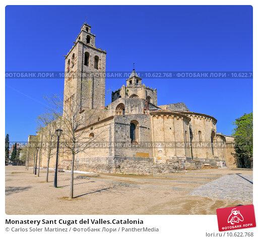 Monastery Sant Cugat del Valles.Catalonia. Стоковое фото, фотограф Carlos Soler Martinez / PantherMedia / Фотобанк Лори