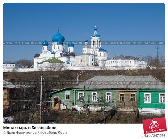 Монастырь в Боголюбово, фото № 247976, снято 29 марта 2008 г. (c) Яков Филимонов / Фотобанк Лори
