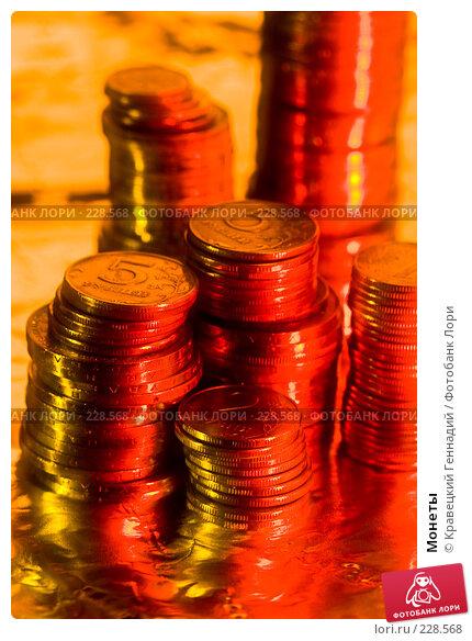 Монеты, фото № 228568, снято 24 января 2005 г. (c) Кравецкий Геннадий / Фотобанк Лори