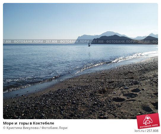 Море и  горы в Коктебеле, фото № 257808, снято 14 сентября 2006 г. (c) Кристина Викулова / Фотобанк Лори