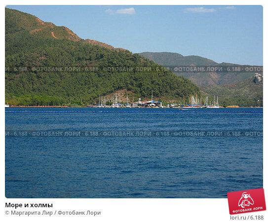 Море и холмы, фото № 6188, снято 7 июля 2006 г. (c) Маргарита Лир / Фотобанк Лори