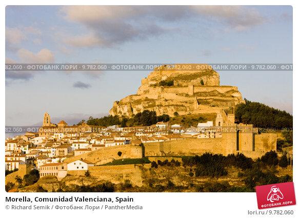 Купить «Morella, Comunidad Valenciana, Spain», фото № 9782060, снято 20 февраля 2019 г. (c) PantherMedia / Фотобанк Лори