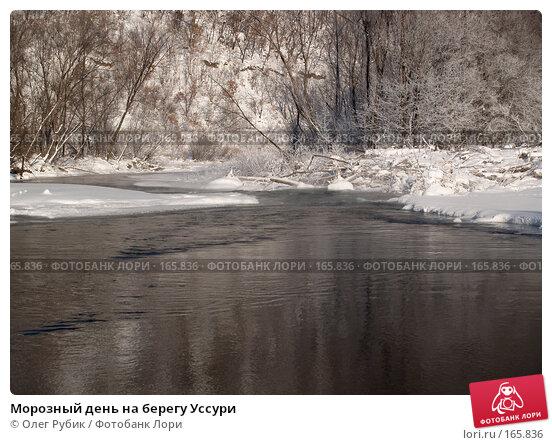 Купить «Морозный день на берегу Уссури», фото № 165836, снято 4 января 2008 г. (c) Олег Рубик / Фотобанк Лори