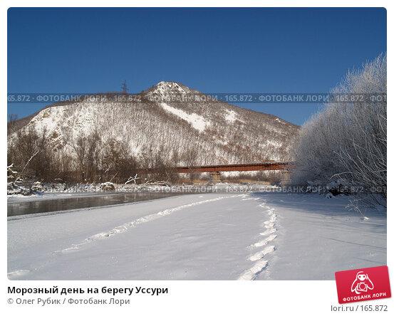 Морозный день на берегу Уссури, фото № 165872, снято 4 января 2008 г. (c) Олег Рубик / Фотобанк Лори