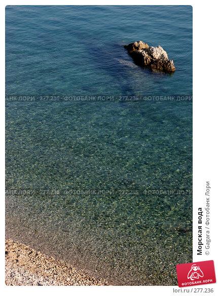 Купить «Морская вода», фото № 277236, снято 2 октября 2006 г. (c) Gagara / Фотобанк Лори