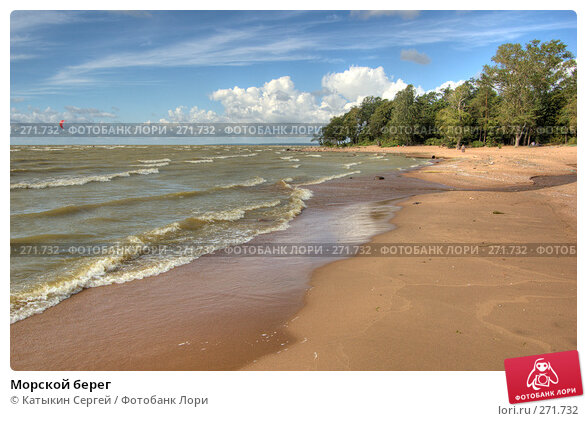 Морской берег, фото № 271732, снято 18 августа 2007 г. (c) Катыкин Сергей / Фотобанк Лори