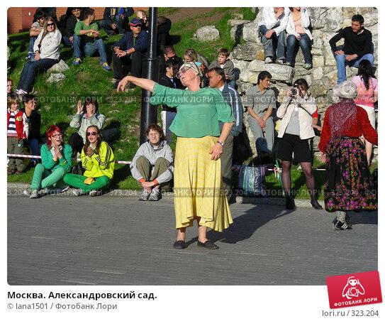 Москва. Александровский сад., эксклюзивное фото № 323204, снято 8 июня 2008 г. (c) lana1501 / Фотобанк Лори