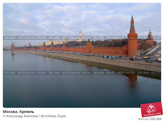 Москва. Кремль, эксклюзивное фото № 202964, снято 11 февраля 2008 г. (c) Александр Алексеев / Фотобанк Лори