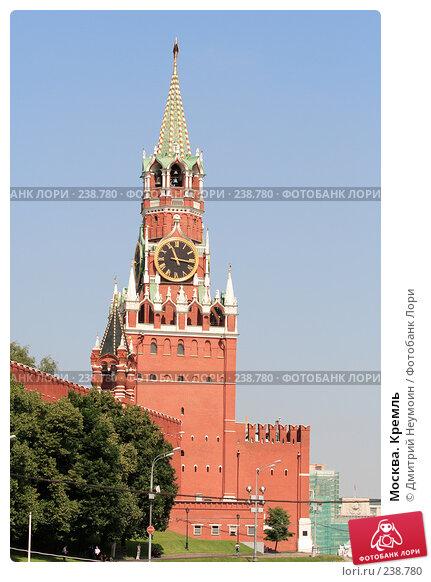 Москва. Кремль, эксклюзивное фото № 238780, снято 5 июля 2007 г. (c) Дмитрий Неумоин / Фотобанк Лори