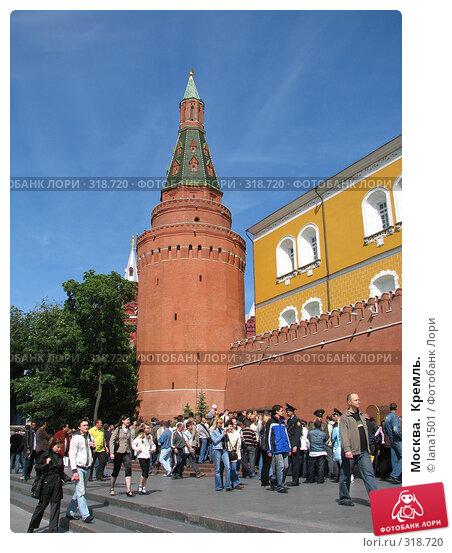 Москва.  Кремль., эксклюзивное фото № 318720, снято 8 июня 2008 г. (c) lana1501 / Фотобанк Лори
