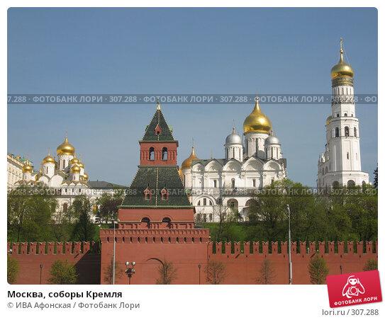 Москва, соборы Кремля, фото № 307288, снято 30 апреля 2008 г. (c) ИВА Афонская / Фотобанк Лори