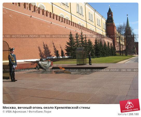 Купить «Москва, вечный огонь около Кремлёвской стены», фото № 288180, снято 10 апреля 2008 г. (c) ИВА Афонская / Фотобанк Лори