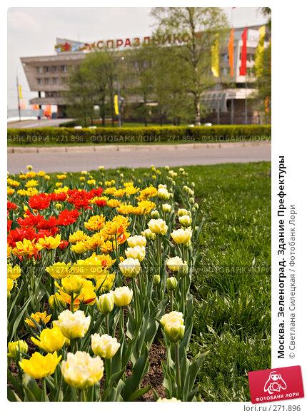 Москва. Зеленоград. Здание Префектуры, фото № 271896, снято 2 мая 2008 г. (c) Светлана Силецкая / Фотобанк Лори