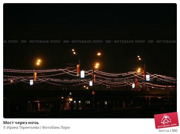 Мост через ночь, эксклюзивное фото № 300, снято 10 мая 2005 г. (c) Ирина Терентьева / Фотобанк Лори