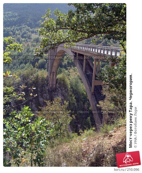 Купить «Мост через реку Тара. Черногория.», фото № 210096, снято 18 сентября 2007 г. (c) УНА / Фотобанк Лори