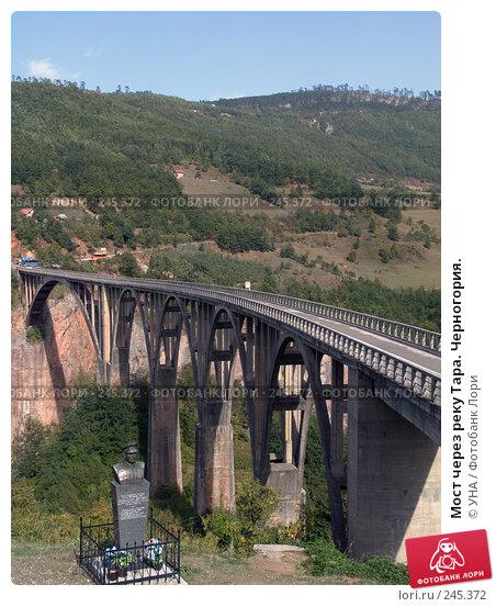Купить «Мост через реку Тара. Черногория.», фото № 245372, снято 18 сентября 2007 г. (c) УНА / Фотобанк Лори