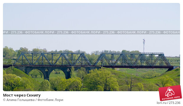 Купить «Мост через Скнигу», эксклюзивное фото № 273236, снято 3 мая 2008 г. (c) Алина Голышева / Фотобанк Лори