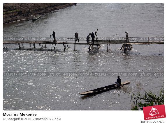 Мост на Меконге, фото № 273972, снято 6 декабря 2007 г. (c) Валерий Шанин / Фотобанк Лори