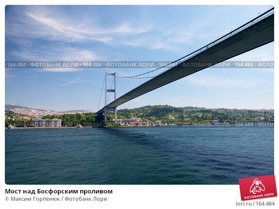 Мост над Босфорским проливом, фото № 164484, снято 23 мая 2006 г. (c) Максим Горпенюк / Фотобанк Лори