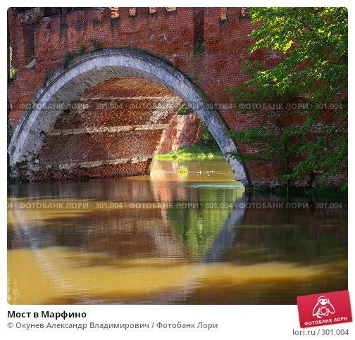 Купить «Мост в Марфино», фото № 301004, снято 26 мая 2008 г. (c) Окунев Александр Владимирович / Фотобанк Лори