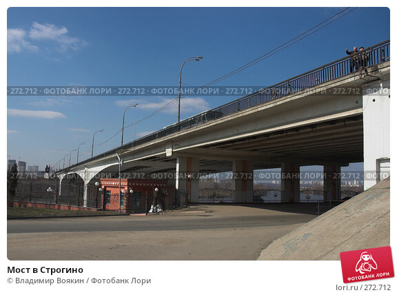 Купить «Мост в Строгино», фото № 272712, снято 26 марта 2007 г. (c) Владимир Воякин / Фотобанк Лори