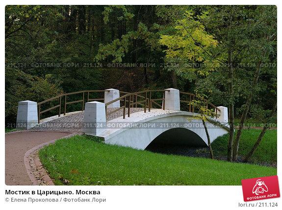 Мостик в Царицыно. Москва, фото № 211124, снято 15 сентября 2007 г. (c) Елена Прокопова / Фотобанк Лори