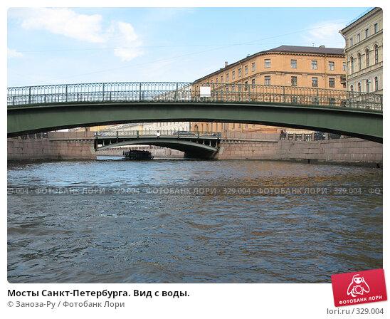 Мосты Санкт-Петербурга. Вид с воды., фото № 329004, снято 14 июня 2008 г. (c) Заноза-Ру / Фотобанк Лори