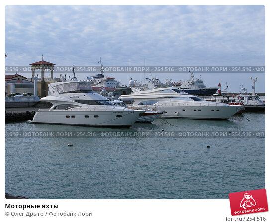 Моторные яхты, фото № 254516, снято 17 марта 2008 г. (c) Олег Дрыго / Фотобанк Лори