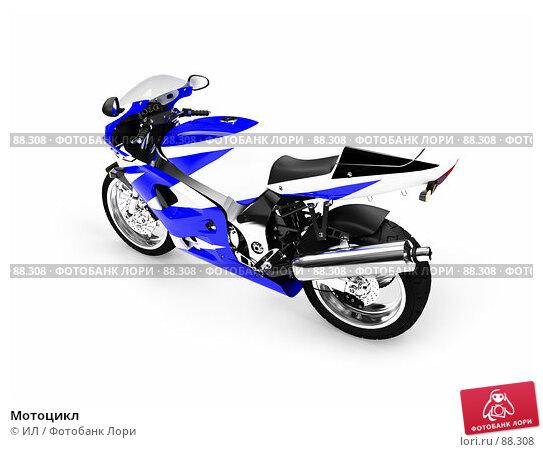Купить «Мотоцикл», иллюстрация № 88308 (c) ИЛ / Фотобанк Лори