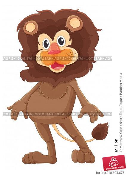 Mr lion. Стоковая иллюстрация, иллюстратор Matthew Cole / PantherMedia / Фотобанк Лори
