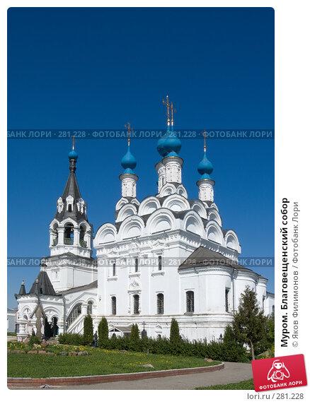 Муром. Благовещенский собор, фото № 281228, снято 2 мая 2008 г. (c) Яков Филимонов / Фотобанк Лори