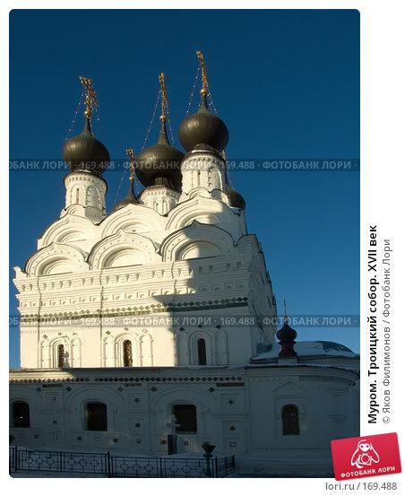 Муром. Троицкий собор. XVII век, фото № 169488, снято 23 декабря 2007 г. (c) Яков Филимонов / Фотобанк Лори